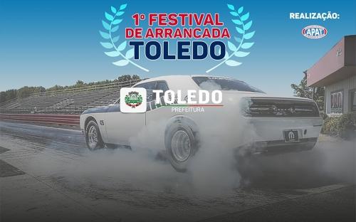 Domingo tem o 1º Festival de Arrancada de Toledo
